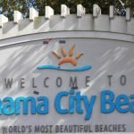 Panama City- Beach Welcome Sign